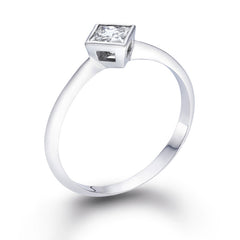 Jeane' Diamond Ring