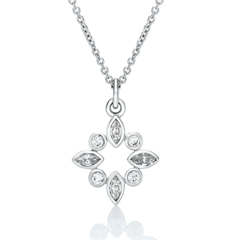 Sky' Diamond Pendant