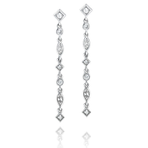 Music' Diamond Earrings