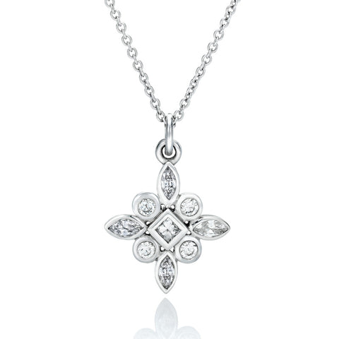 Mai' Diamond Pendant