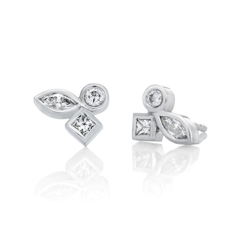 Lune' Diamond Earrings