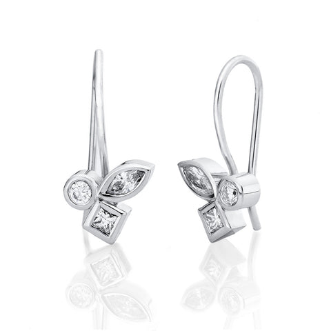 Amande' Diamond Earrings