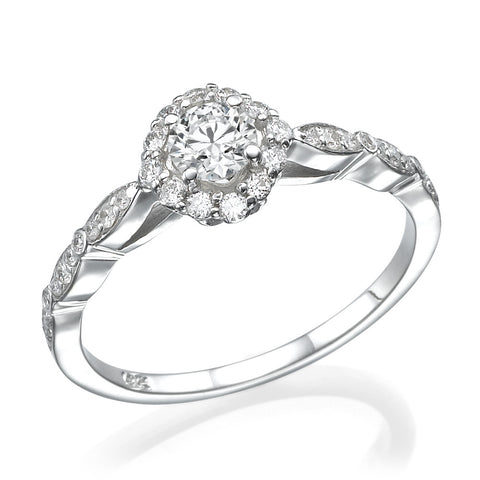 Beverlo' Diamond Ring
