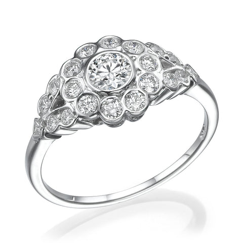 Ida' Diamond Ring