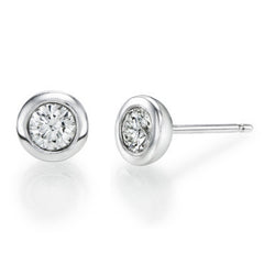 1/2 ct. Round Diamond Classic Stud Earrings