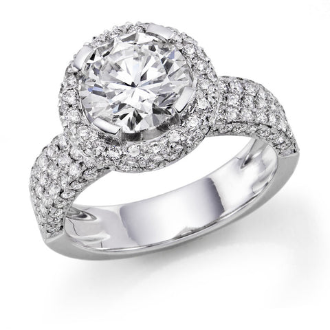Queen Garden' Diamond Ring
