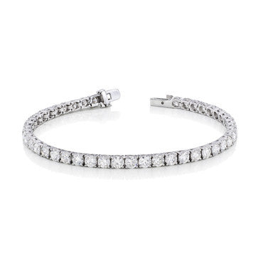 Classic Diamond Tennis Bracelet in 14k White Gold