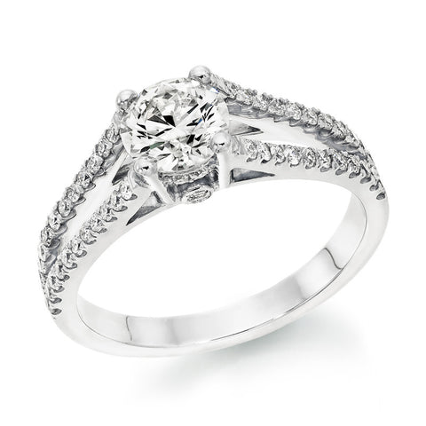 Argusvlinder' Diamond Ring