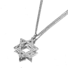 1/3 ct. Round Diamond Classic Pendant in 14k White Gold