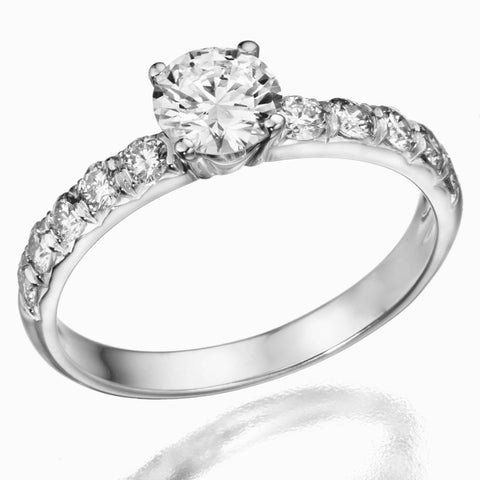 Spring - 0.90ctw Diamond Ring