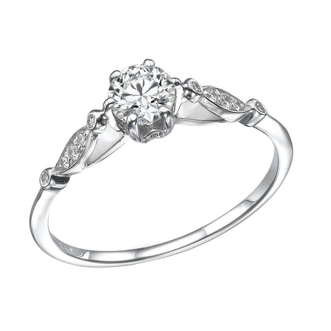 Viola' Diamond Ring