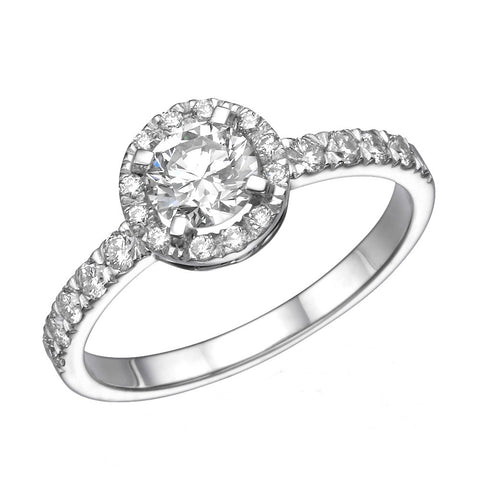 Mary' Diamond Ring