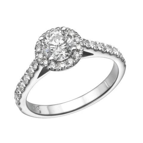 Ruth' Diamond Ring