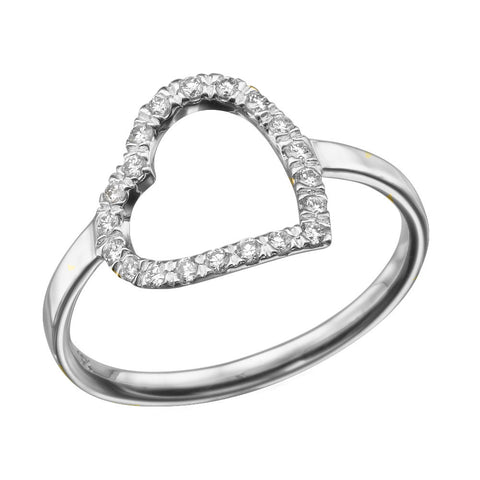 Angel' Diamond Ring