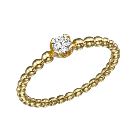 Carol' Diamond Ring
