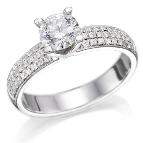 Rose' Diamond Ring
