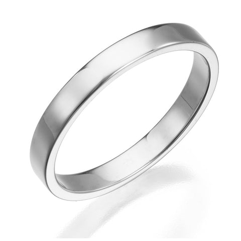3.5 mm Gold Wedding Band