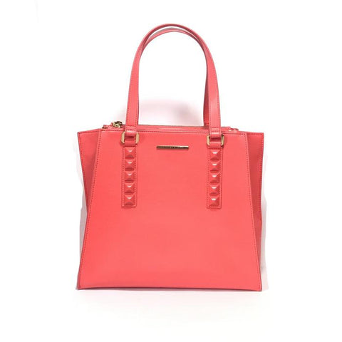 CHARLES & KEITH CORAL TOTE BAG