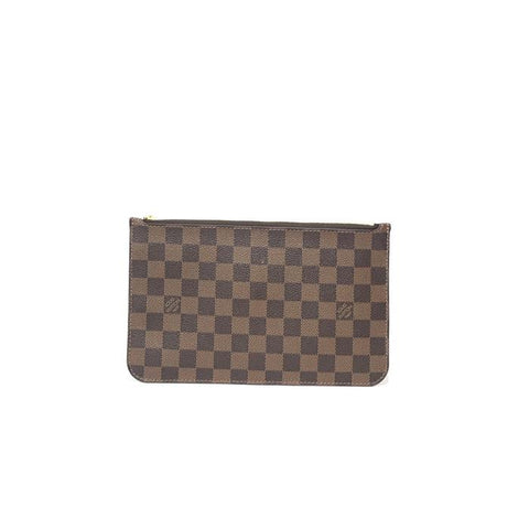 LOUIS VUITTON DAMIER EBENE POCHETTE CLUTCH