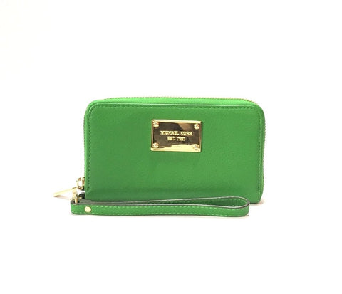 Michael Kors Parrot Green Wallet