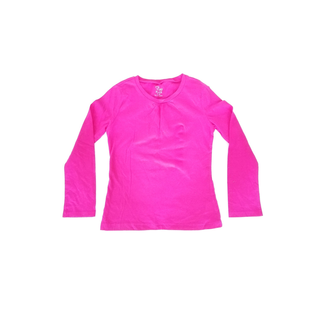 Children's Place Pink Full Sleeved T Shirt (5 - 6 years)