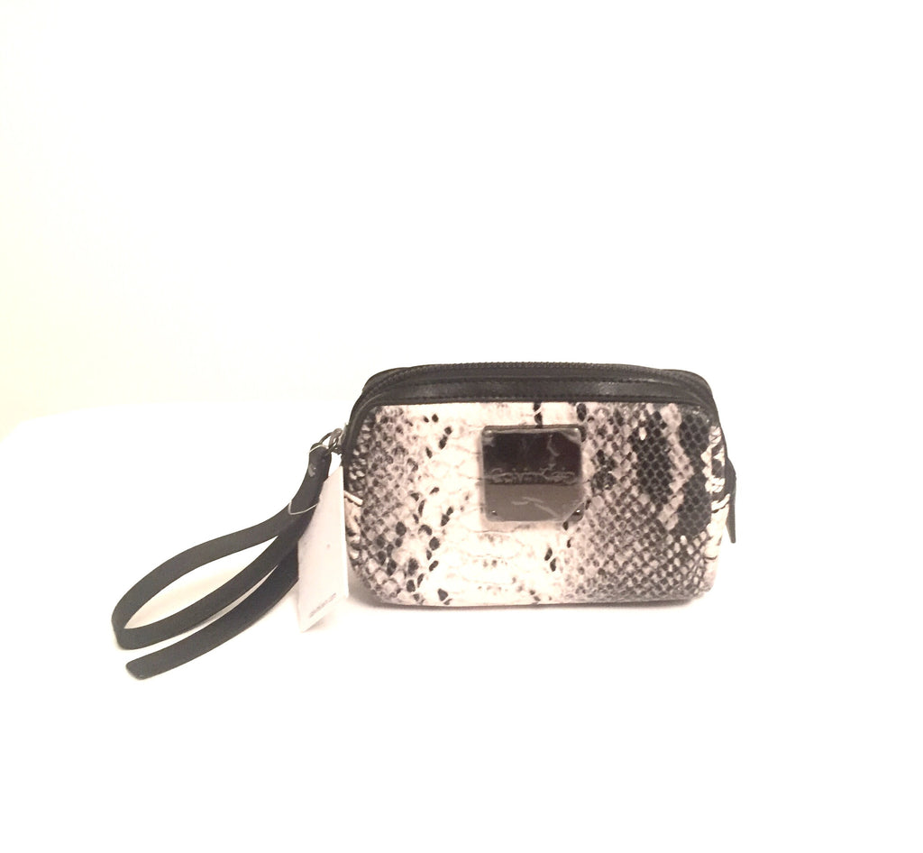 Calvin Klein Snakeskin Wristlet | Brand New | - Secret Stash