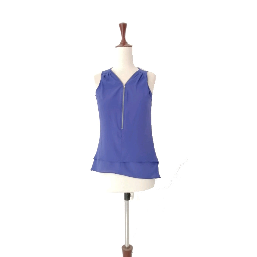 New Look Blue Sleeveless Top | Gently Used |