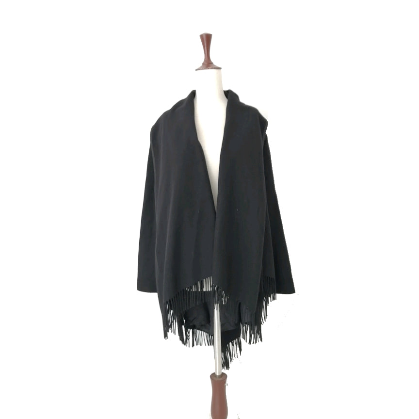ZARA Black Cape Jacket | Gently Used |