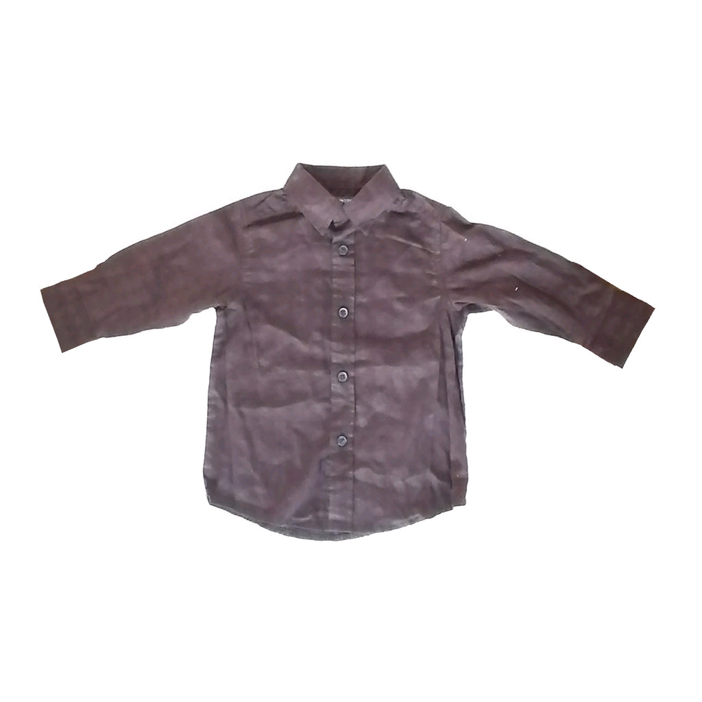 Kenneth Cole Brown Dress Shirt (24 months)