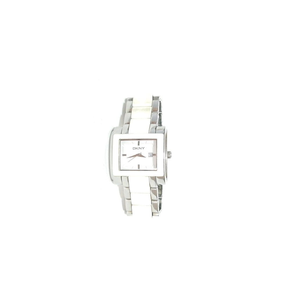 DKNY White Ceramic Bracelet Watch