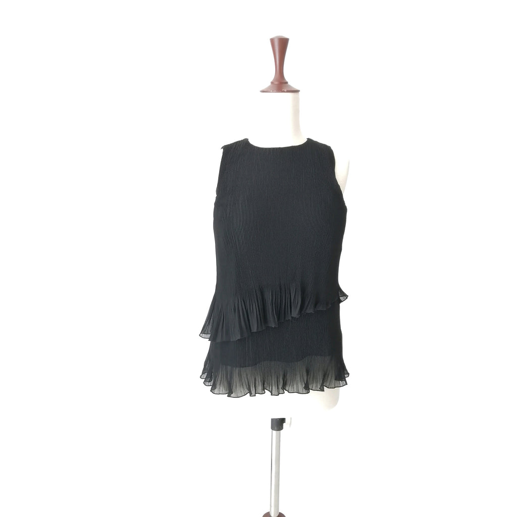 Coast Black Sleeveless Top