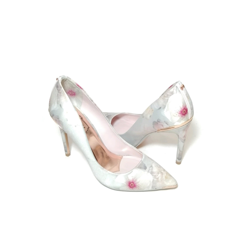 Ted Baker Grey Printed Chelsea Pumps