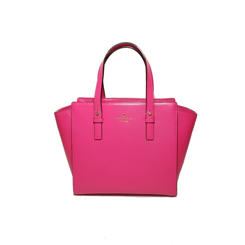 Kate Spade Fuchsia Leather Satchel | Like New |