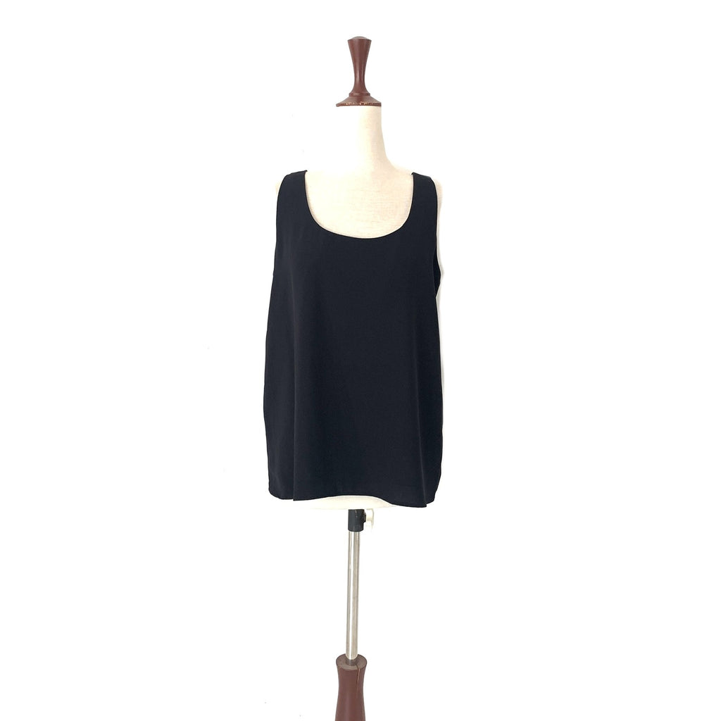 Mango Black Sleeveless Top | Gently Used |