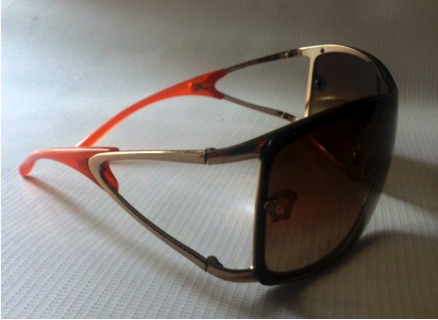 Versace Visor Sunglasses | Pre-loved | - Secret Stash