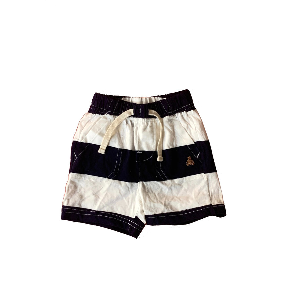 Baby Gap Blue & White Striped Shorts | Brand New |