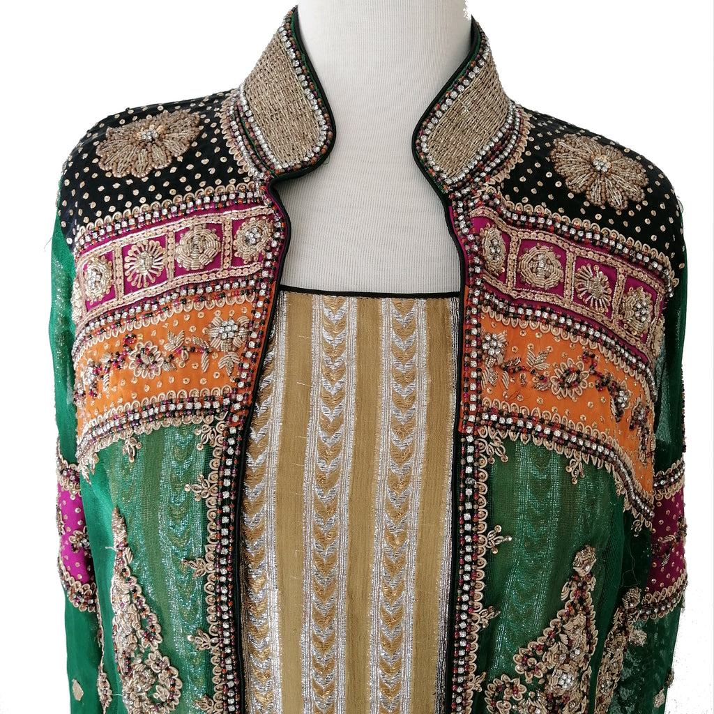 Karma Embroidered Coat (2 pcs.) | Gently Used |
