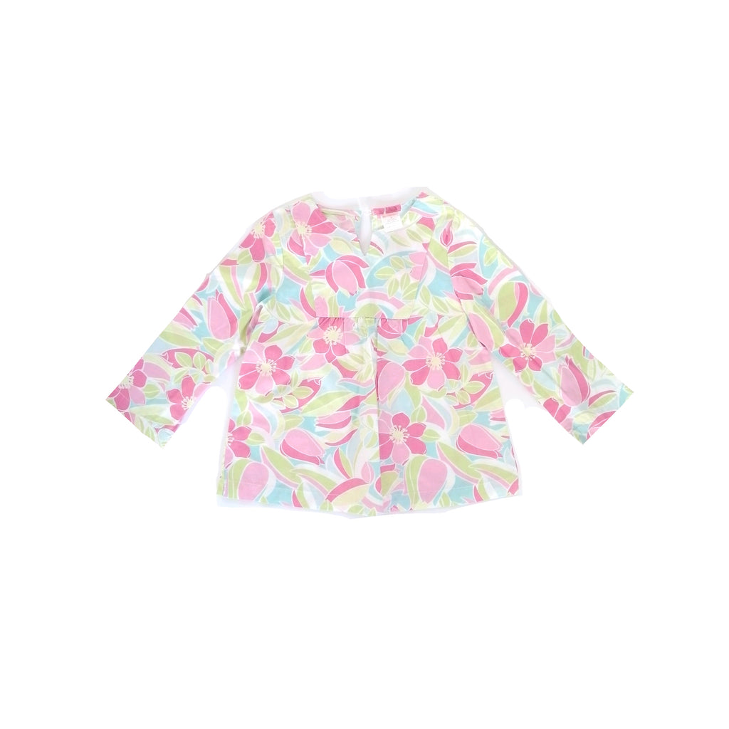 Gymboree Floral Shirt (4 years)