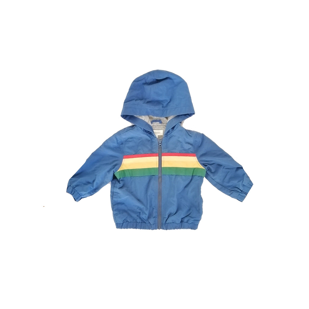 Gymboree Rainbow Blue Jacket (12 - 18 months)