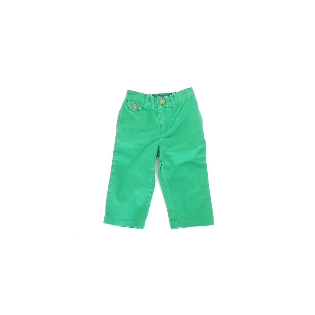 Polo Ralph Lauren Green Pants (12 months)