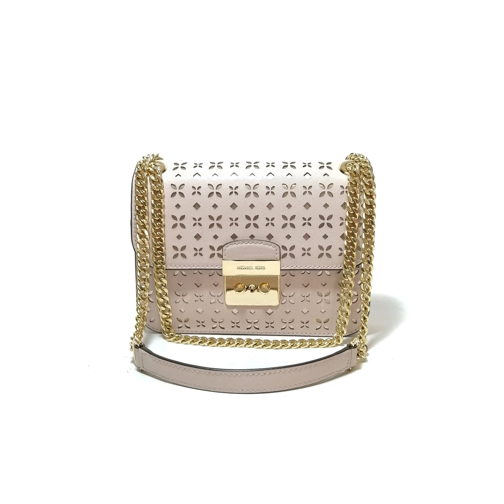 Michael Kors Sloan laser Cut Cross Body Bag