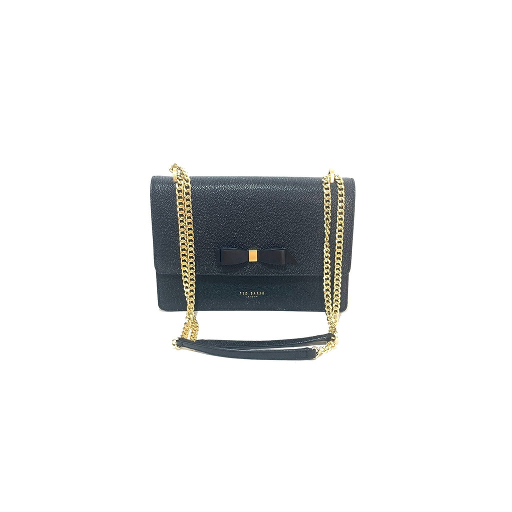 Ted Baker Black 'Joanna' Convertible Crossbody Bag | Brand New |