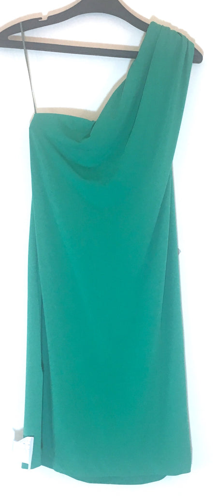 MANGO Green One Shoulder Top | Brand New |