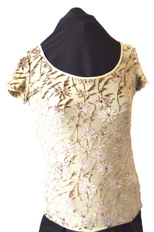 Armani Collection Floral Top | Gently Used |