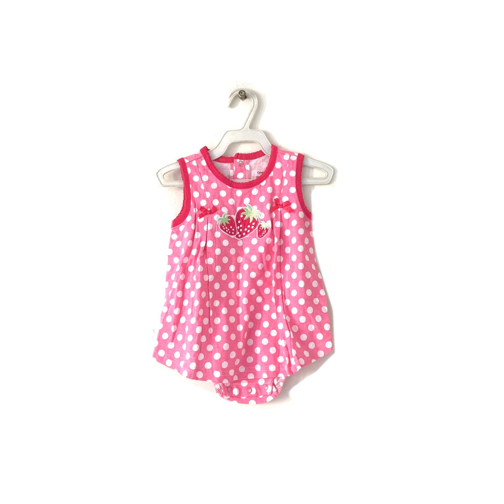 George Pink Strawberry Dress | Brand New |