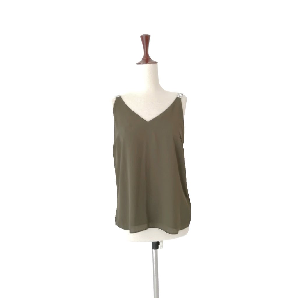 Dorothy Perkins Olive Green Blouse