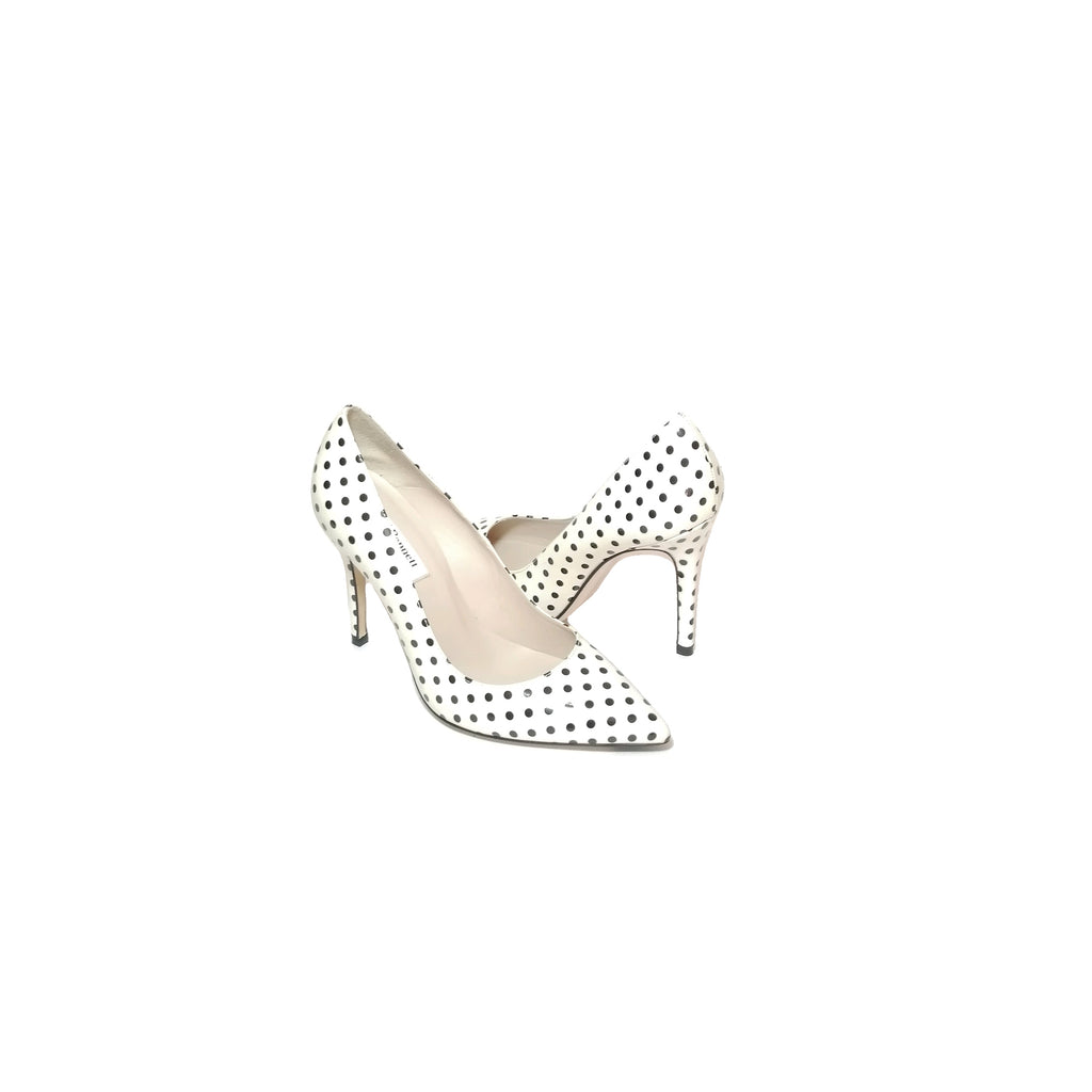 L.K Bennett Black & White Polka Dot Pumps