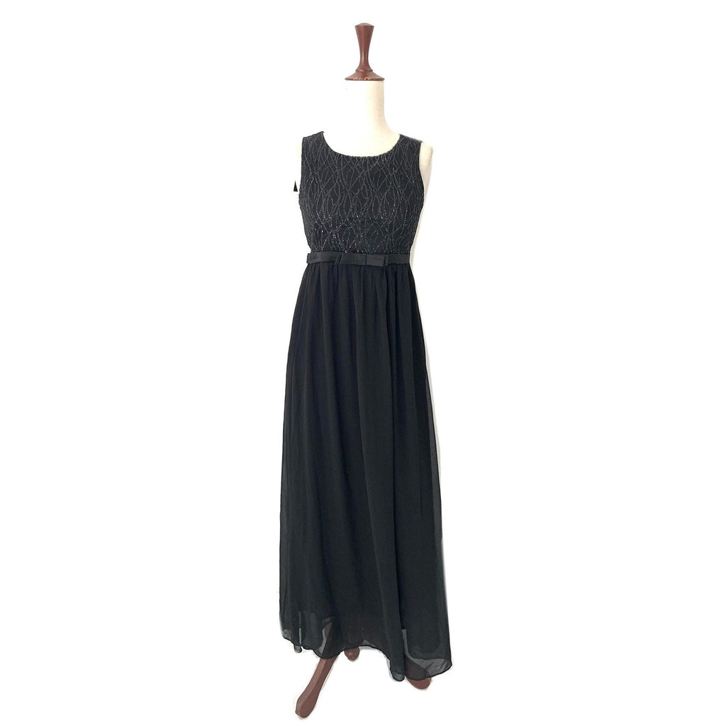 Mantra Black Long Dress | Brand New |
