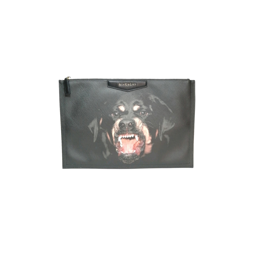 Givenchy Rottweiler Envelope Clutch