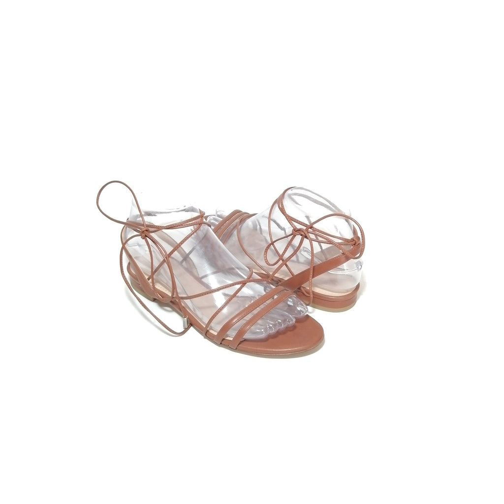 Charles & Keith Tan Strappy Sandals